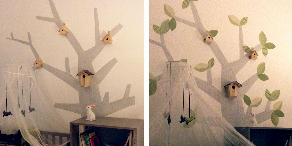 arbre mural papier peint