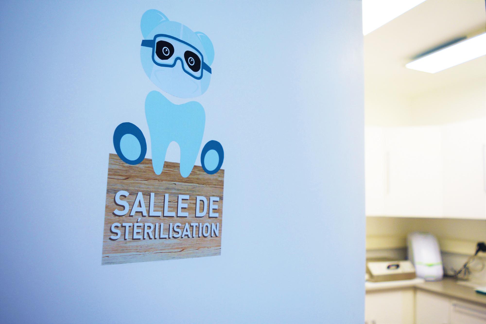 Salle de stérilisation du cabinet
