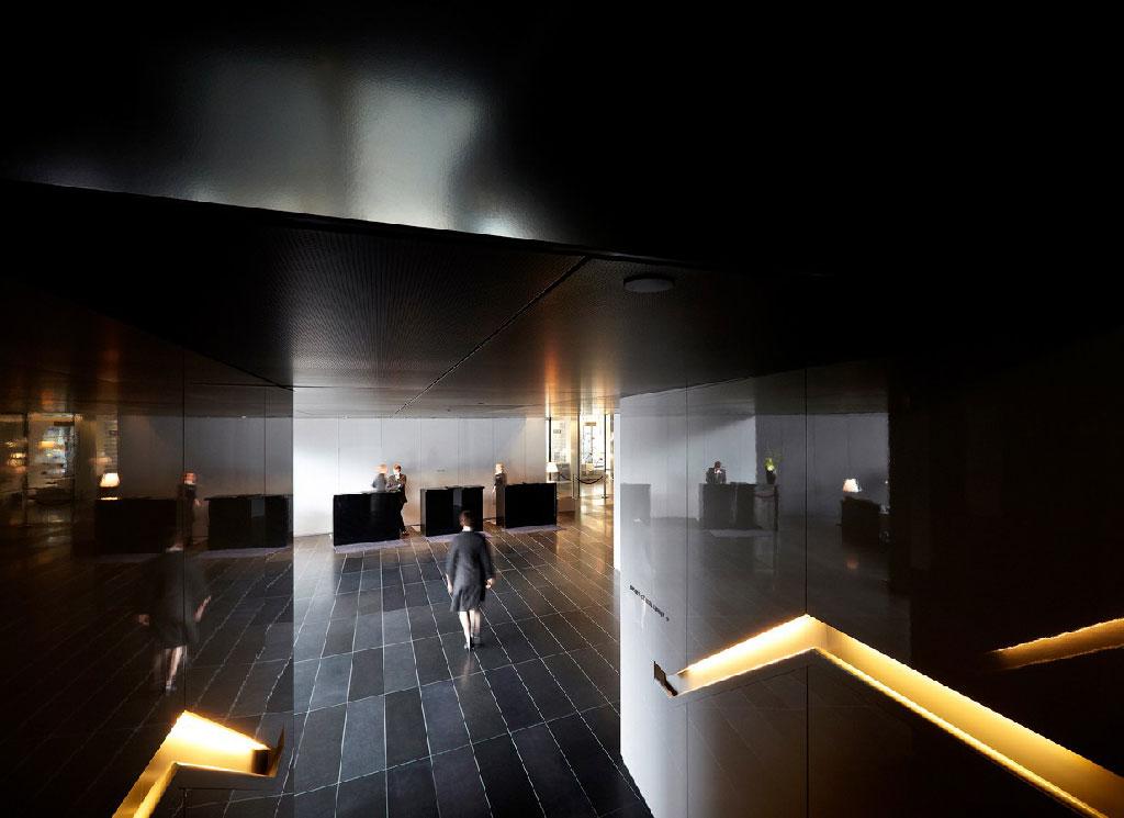L'hôtel viennois de l'architecte Jean Nouvel ©Julien Lanoo