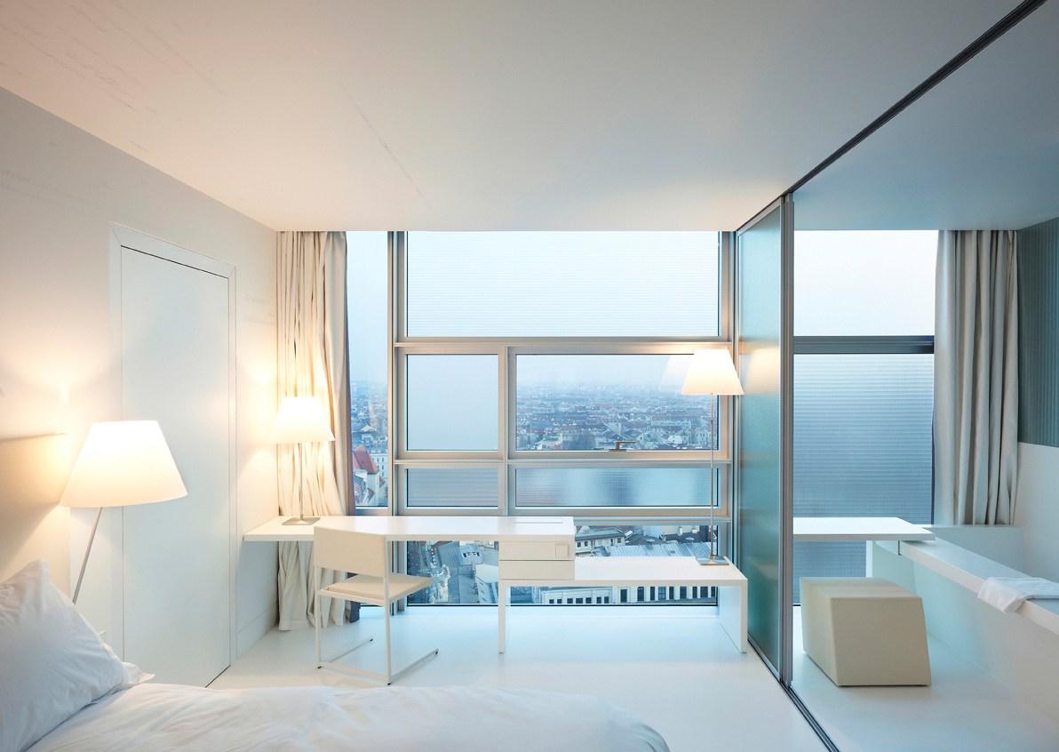 L'hôtel viennois de l'architect Jean nouvel ©Julien Lanoo