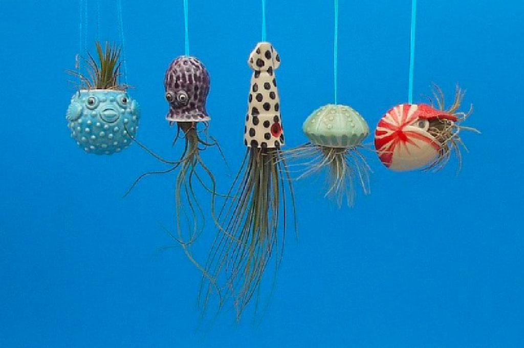 Les céramiques à Air Plant de Cindy Searles