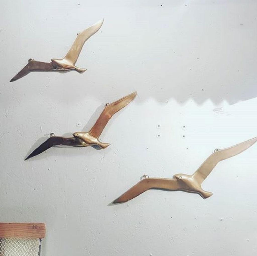 Quand l'hirondelle fait le mur... les oiseaux en déco