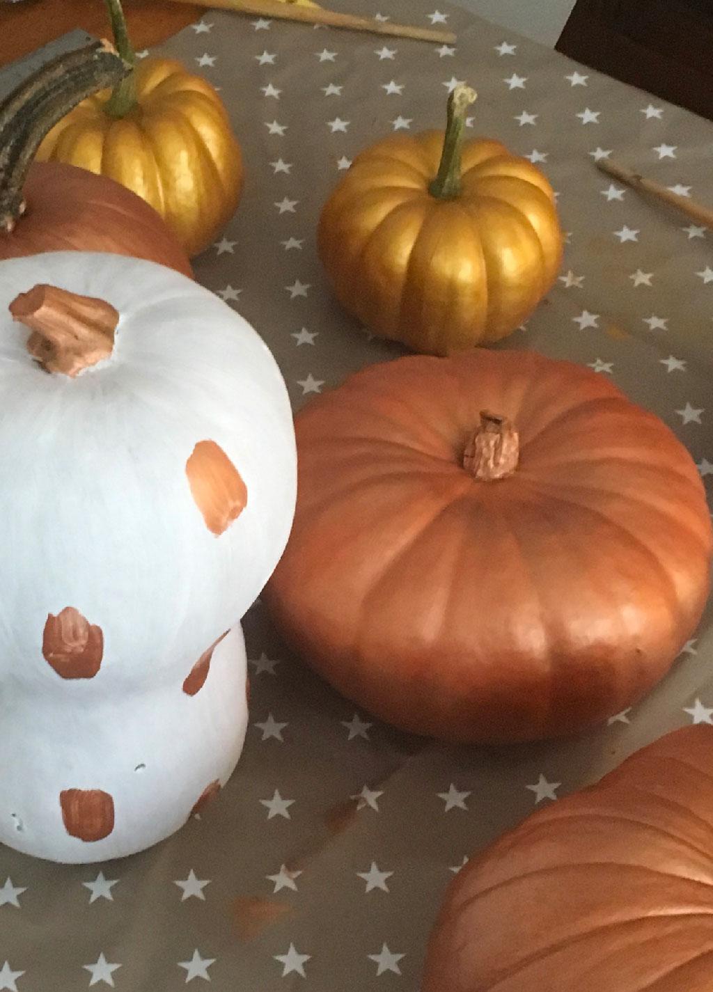 Des citrouilles coquettes DIY pour Halloween