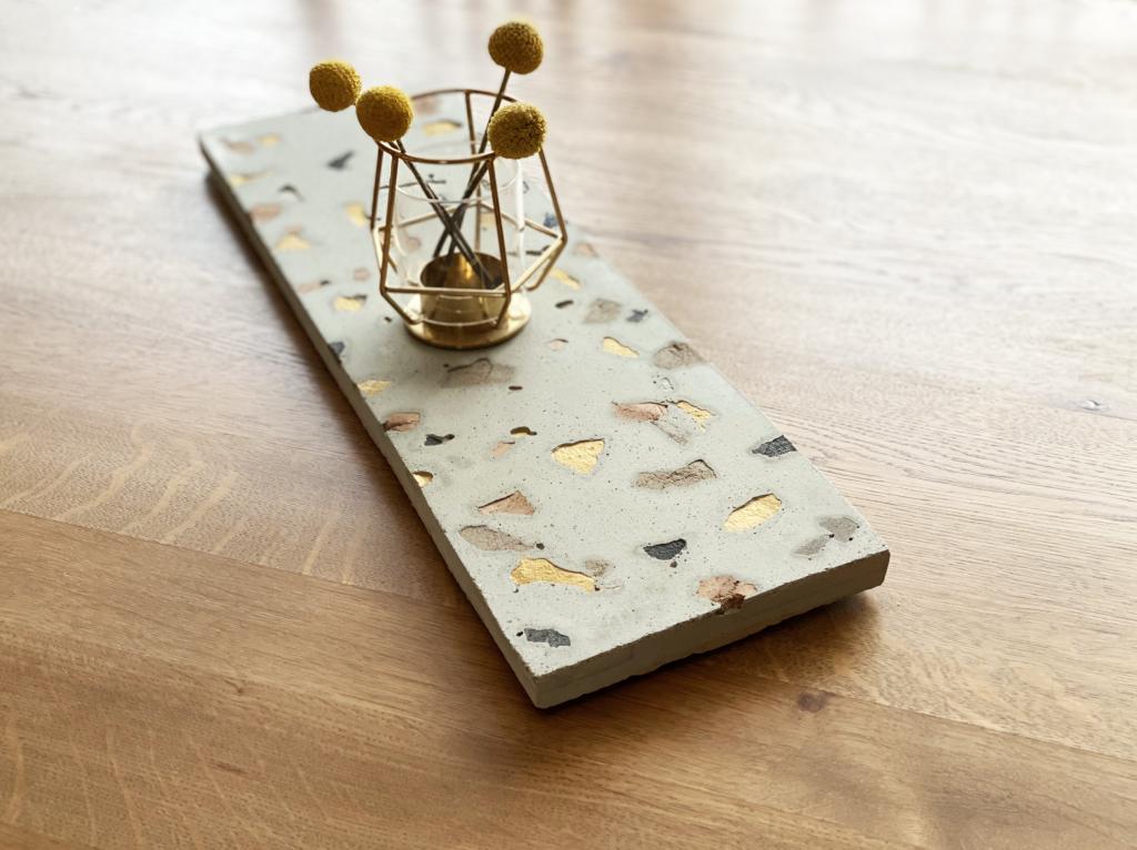 DIY : une centre de table Terrazzo
