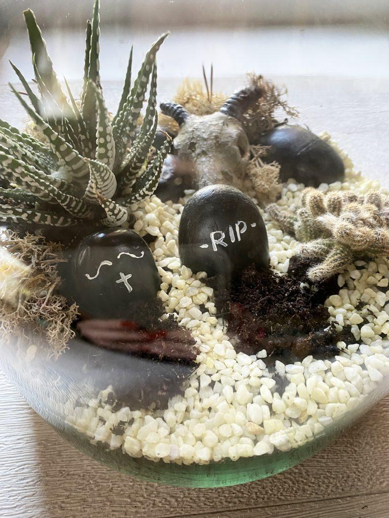 DIY Terrorium, mon terrarium spécial Halloween ! www.iddiy.lu