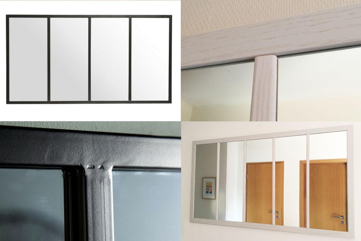 Tuto Faire Une Verriere un miroir verrière atelier sur mesure diy – iddiy – interior